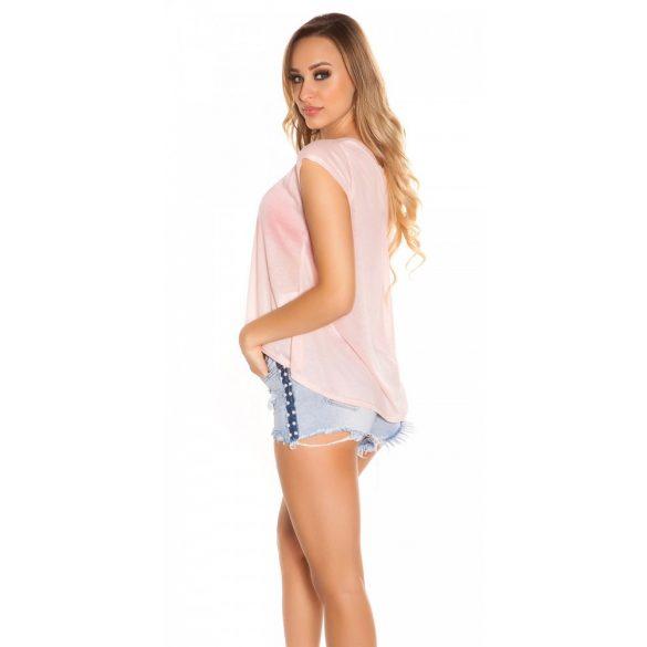 Lazac divatos női felső