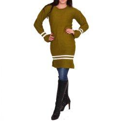 Zöld kötött női ruha