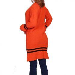 Narancssárga kötött női ruha