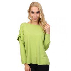 Zöld női kötött felső